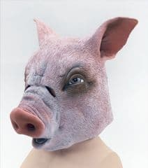 Overhead Rubber Pig Mask