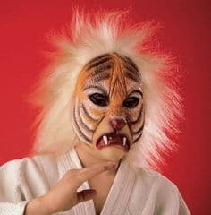 Overhead Rubber Tiger Mask