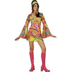 Retro Go Go Girl Costume (EF2059)