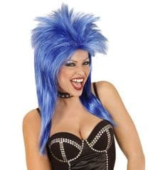 Rock Star Wig - Blue