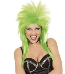 Rock Star Wig - Green