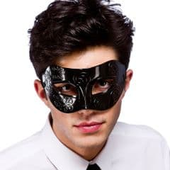 Rome Eye Mask  - Black (MK-9808-B)