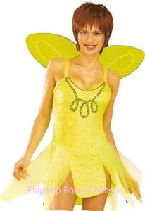 Sexy Tinkerbell Costume with Wings