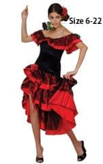 Spanish Senorita Costume
