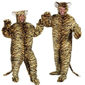 Adult Tiger Costume - Tiger costume for adults