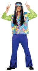 Velvet Hippy Man Costume (3541)