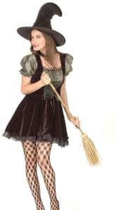 Witch halloween fancy dress costume