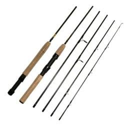 5 Piece 7.5ft Carbon Spin Fly Travel Rod | Rods | Flash Fishing Tackle