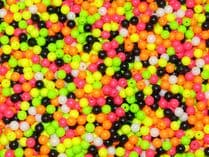 RIG MAKING 100 x 8mm RIG BEADS LUMO ASSORTED UK MADE TOP QUALITY
