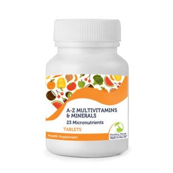 A-Z Multivitamins & Minerals 23 Micronutrients Tablets