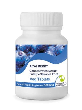 Acai Berry  Extract 3000mg Tablets