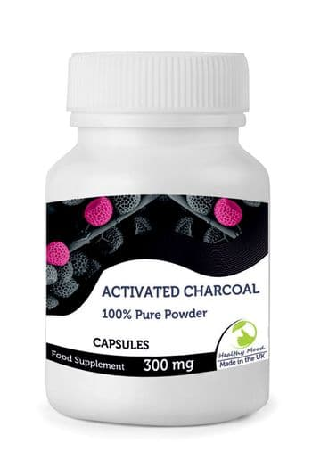 Activated Charcoal Powder Capsules
