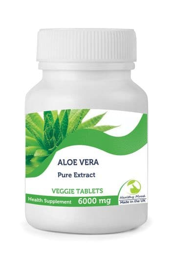Aloe Vera Extract 6000mg Tablets