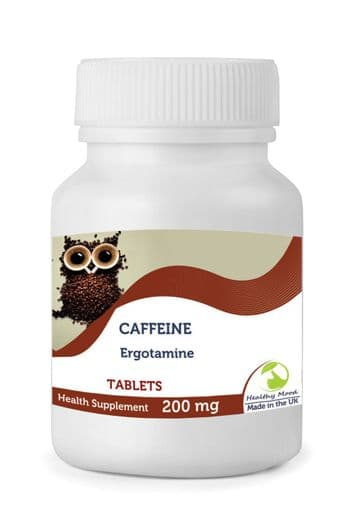 Caffeine 200mg Tablets