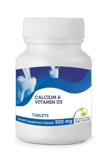 Calcium with Vitamin D3 Tablets 500mg