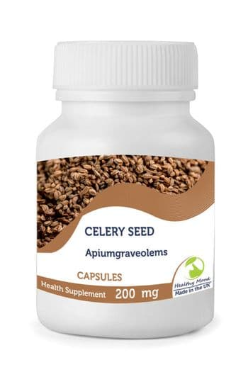 Celery Seed  Powder 200mg Capsules
