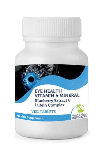 Eyehealth Blueberry and Lutein Tablets
