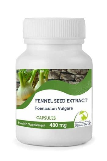 Fennel Seed Extract 480mg  Capsules