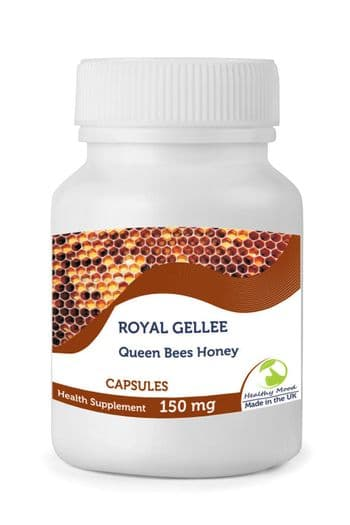 Fresh Bumble Bee Honey Royal Jelly Gellee 150mg Capsules