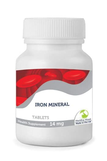 Iron Mineral 14 mg Tablets