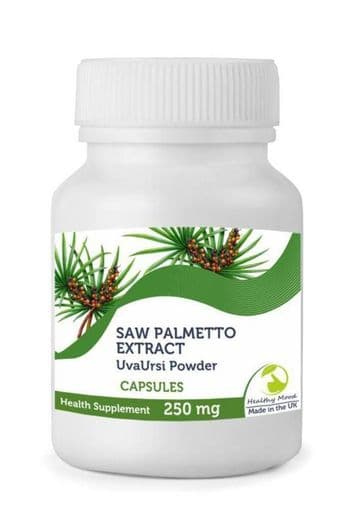 Saw Palmetto 1000mg Uva Ursi Veg Extract  Capsules
