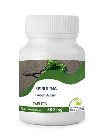 Spirulina 500mg Algae Tablets