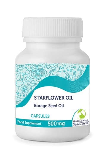 Starflower Borage Seed Oil Linolenic GLA 500mg Capsules