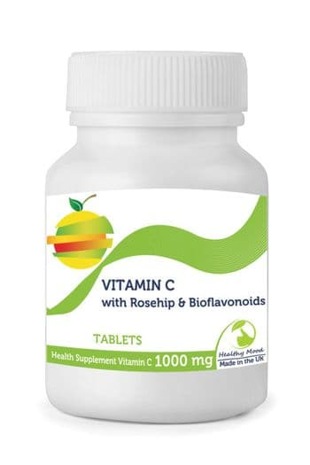 Vitamin C with Rosehip Bioflavonoids Tablets 1000mg