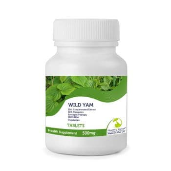 Wild Yam 500mg Tablets