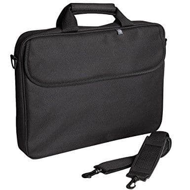 Black Vinyl Padded Laptop Case