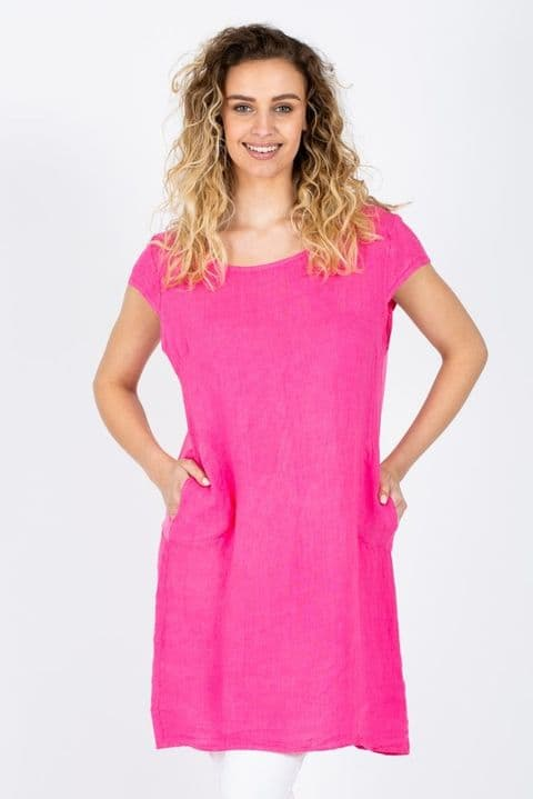 The Gina dress in Pink