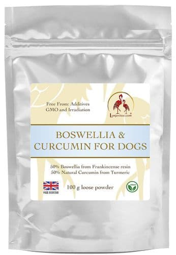 Boswellia-Curcumin 50/50 Blend for Dogs 100 g