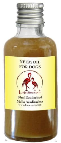 Neem Deodorised Oil for Dogs