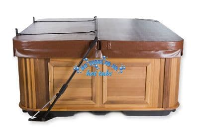 COVER LIFTER Cabinet Free Mounted, Dual Gas Assist Lift inc. Cover Saver