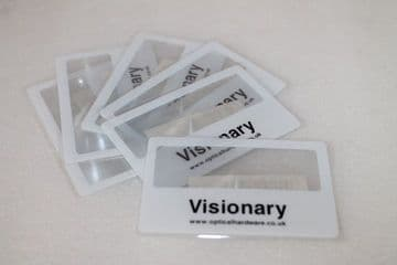 Visionary Mag 1 credit card sized magnifier (pack of 3)