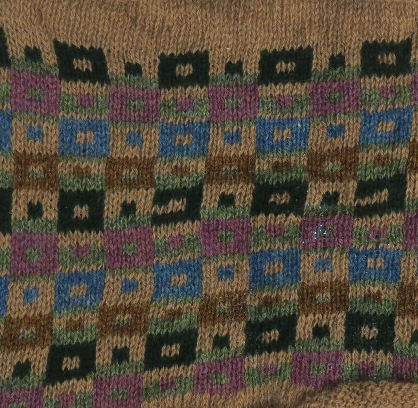 FAIR ISLE KNITWEAR-slip overs- vest - Made in England
