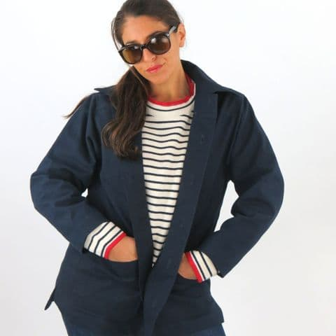 Ladies-Cotton Canvas Jacket