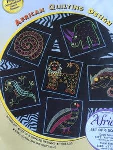 African Embroidery kit