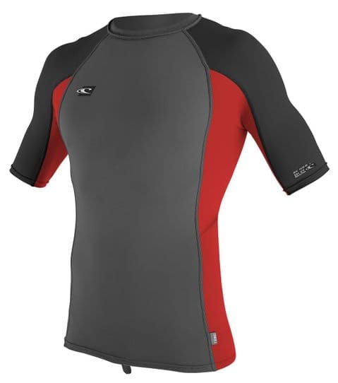 O'NEILL MENS RASH VEST.PREMIUM SKINS UPF50+ SUN PROTECTION T SHIRT TOP 8S 9B DJ5