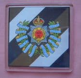 13th HUSSARS LARGE ACRYLIC COASTER