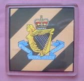8th KING'S ROYAL IRISH HUSSARS LARGE ACRYLIC COASTER