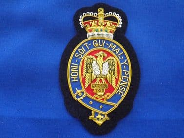 BLUE'S AND ROYAL'S  BLAZER BADGE