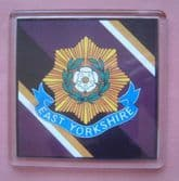 EAST YORKSHIRE REGIMENT LARGE ACRYLIC COASTER