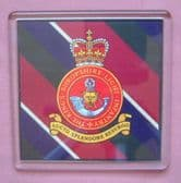 KING'S SHROPSHIRE LIGHT INFANTRY ( KOSLI )  LARGE ACRYLIC COASTER