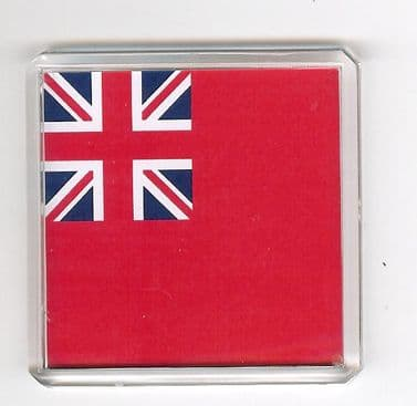 MERCHANT NAVY RED ENSIGN FRIDGE MAGNET