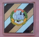 NORTHAMPTONSHIRE REGIMENT LARGE ACRYLIC COASTER