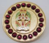 QUEEN ALEXANDRA'S ROYAL ARMY NURSING CORPS ( QARANC ) BROACH / BROOCH (GR)