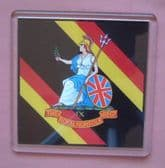 ROYAL NORFOLK REGIMENT LARGE ACRYLIC COASTER