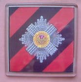 SCOT'S GUARDS LARGE ACRYLIC COASTER