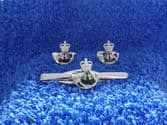THE RIFLES CUFF LINKS AND TIE GRIP / CLIP SET